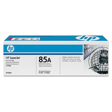 HP 85A (CE285A) Black Original High Capacity Toner Cartridge