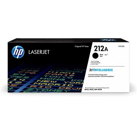 HP 212A (W2120A) Black Original Standard Yield Toner Cartridge