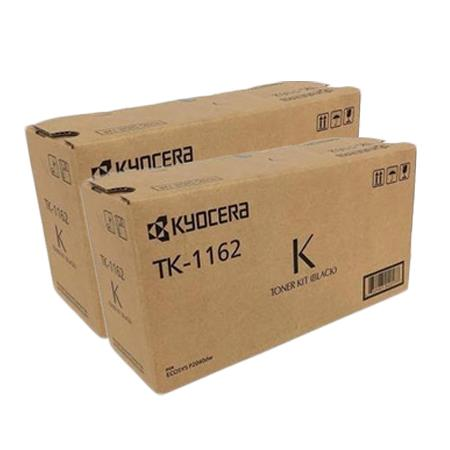 Kyocera TK-1162K Black Original Toners Twin Pack