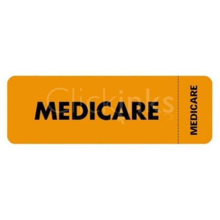 Tabbies Medicare Insurance Label