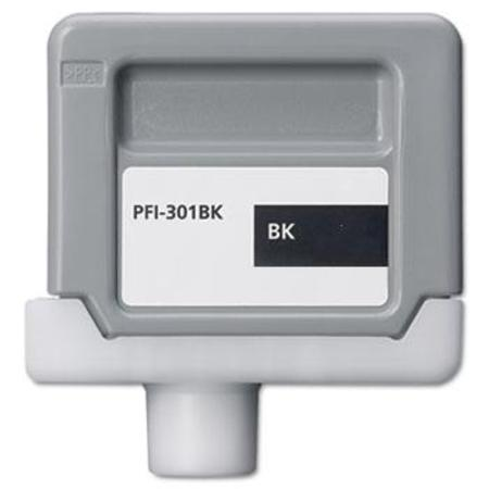 Canon PFI-301BK (1486B001AA) Compatible Black Ink Cartridge