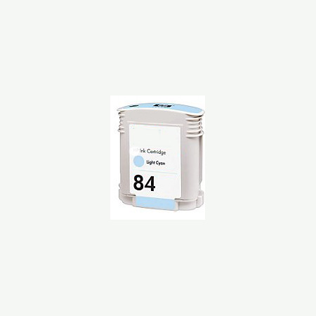 HP 84 Remanufactured Light Cyan Inkjet Cartridge (C5017A)