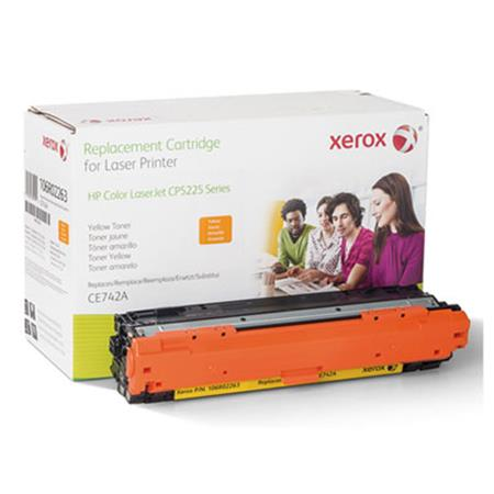 Xerox Premium Replacement Yellow Toner Cartridge for HP 307A (CE742A)