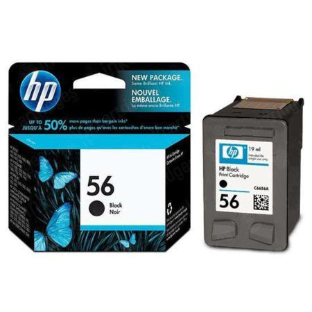 HP 56 Black Original Inkjet Print Cartridge (C6656AN)