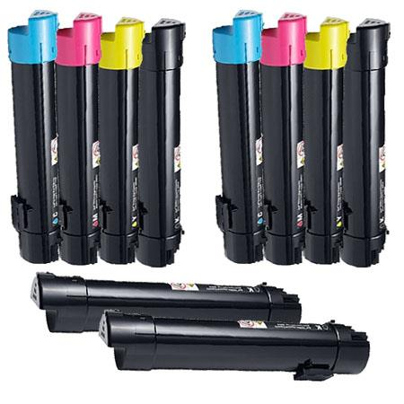 332-2115/2116/2117/2118 2 Full Set + 2 EXTRA Remanufactured Toners