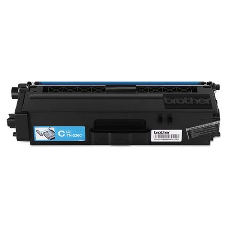 Brother TN336C Original High Capacity Cyan Toner Cartridge
