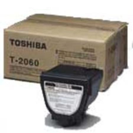 Toshiba T-2060 Black Original Toner Cartridge (3 Prong)