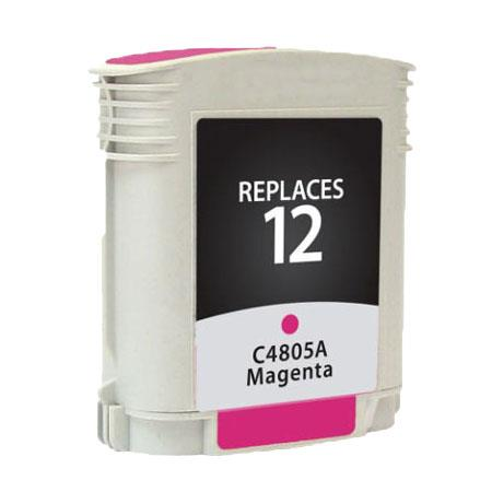 HP 12 Magenta Remanufactured Printer Ink Cartridge (C4805A)