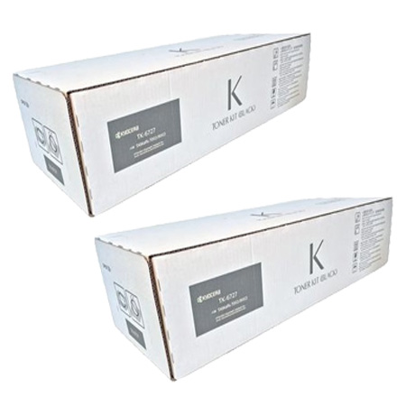 TK-6727 Black Original Toners Twin Pack