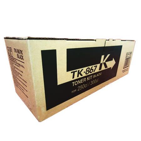 Kyocera-Mita TK-867K Black Original Toner Cartridge