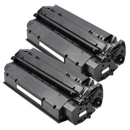 15X Black Remanufactured Toner Cartridges Twin Pack