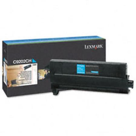 Lexmark C9202CH Original Cyan Toner Cartridge