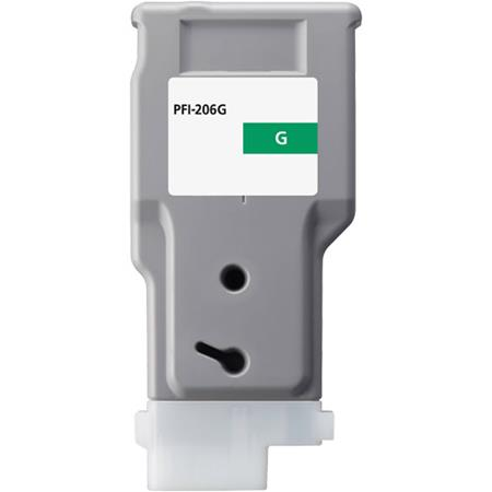 Compatible Green Canon PFI-206G Ink Cartridge (Replaces Canon 5310B001AA)