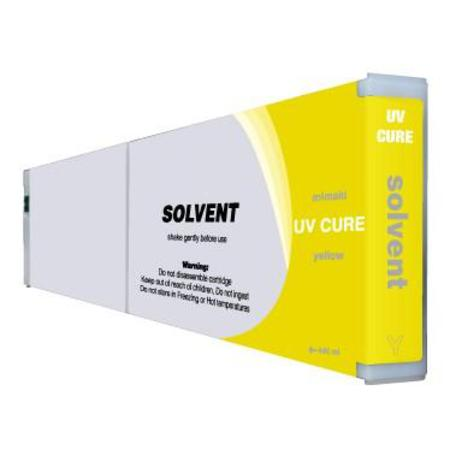 Mimaki UV Cure Compatible Yellow Inkjet Cartridge