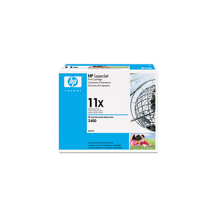 HP LaserJet 11X (Q6511X) Black Original High Capacity Print Cartridge with Smart Printing Technology