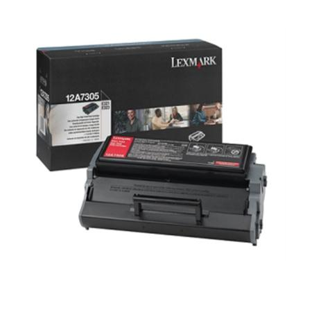 Lexmark 12A7305 Original Black High Yield Toner Cartridge