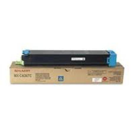 Sharp MXC40NTC Cyan Original Toner Cartridge