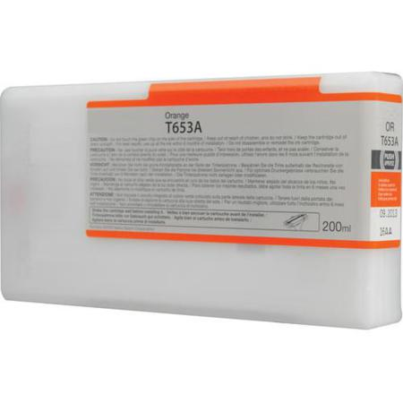 Epson T653A00 (T653A) Remanufactured Orange Ink Cartridge