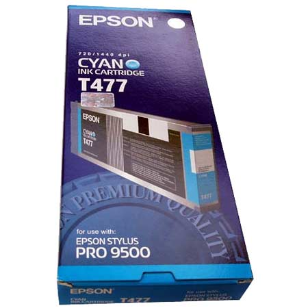 Epson T477(T477011) Original Cyan Ink Cartridge