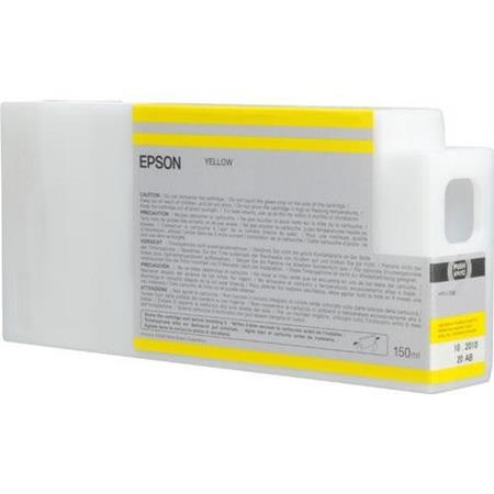 Epson T8344 (T834400) Yellow Original UltraChrome HDX Ink Cartridge (150 ml)