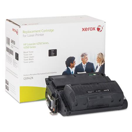 Xerox Premium Replacement Black High Capacity Toner Cartridge for HP 42X (Q5942X)