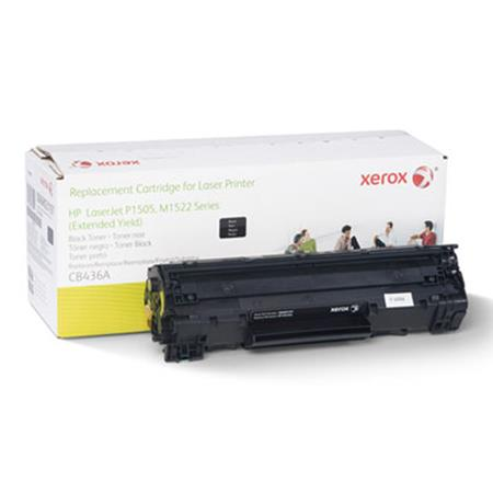 Xerox Premium Replacement Black Extended Capacity Toner Cartridge for HP 36A (CB436A)