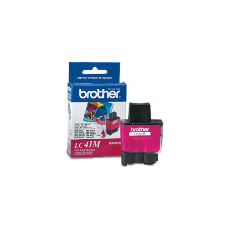 Brother LC41M Magenta Original Print Cartridge