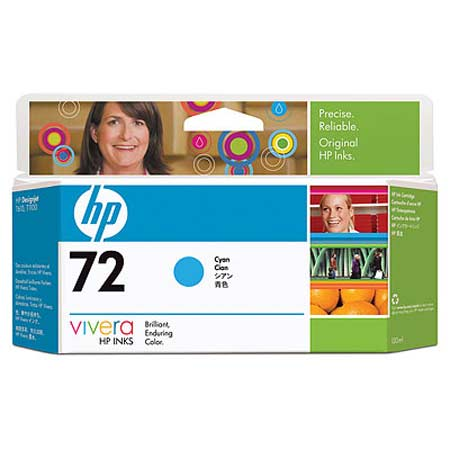 HP 72 (C9371A) Original Cyan High Capacity Ink Cartridge