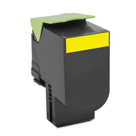 Compatible Yellow Lexmark 70C1HY0 High Yield Toner Cartridge