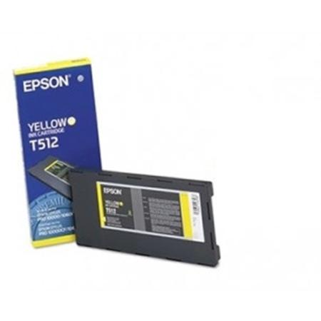 Epson T512011 (T512) Original Yellow Ink Cartridge