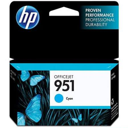 HP 951 (CN050AN) Cyan Original Standard Capacity Officejet Ink Cartridge