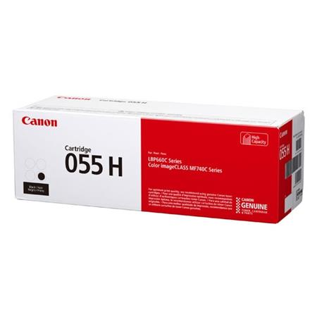 Canon 055H (3020C001) Black Original High Capacity Toner Cartridge