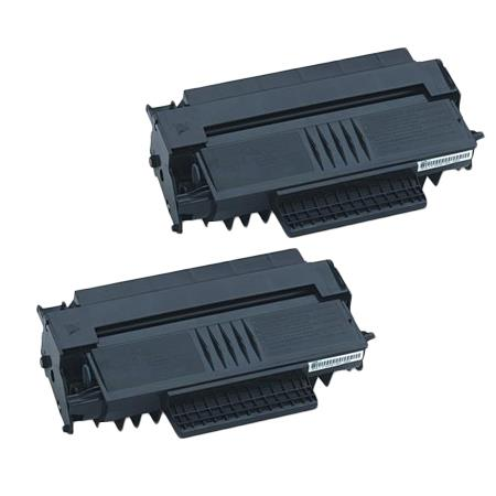 413460 Black Remanufactured Toner Cartridge Twin Pack