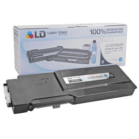 Dell 86W6H Original High Capacity Black Toner Cartridge (331-8425)