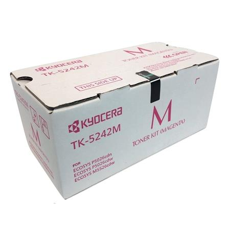 Kyocera TK-5242M Magenta Original Toner Cartridge