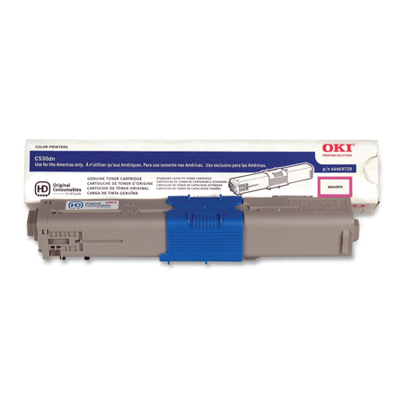 OKI 44469720 Magenta Original High Capacity Toner Cartridge