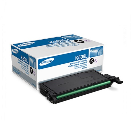 Samsung CLT-K508L Black Original High Capacity Toner Cartridge