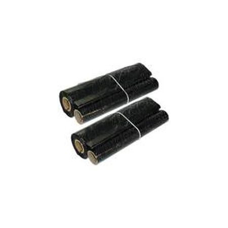 Compatible Black Sharp UX-10CR Thermal Fax Ribbon Refill Rolls - Pack of 2