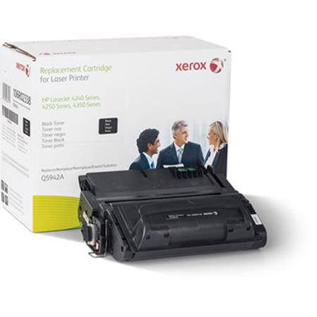 Xerox Premium Replacement Black Standard Capacity Toner Cartridge for HP 42A (Q5942A)