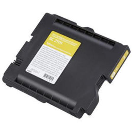 Compatible Yellow Ricoh 405535 Ink Cartridge (Replaces GC21Y)