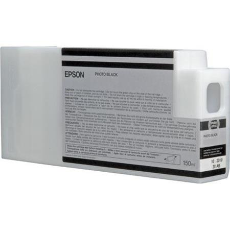 Epson T8341 (T834100) Photo Black Original UltraChrome HDX Ink Cartridge (150 ml)