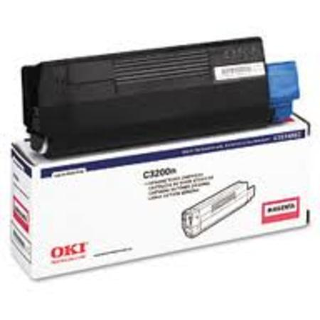 OKI 43034802 Magenta Original Laser Toner Cartridge