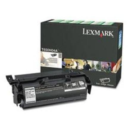 Lexmark T650H04A Black Original High Yield Return Program Toner Cartridge for Label Applications