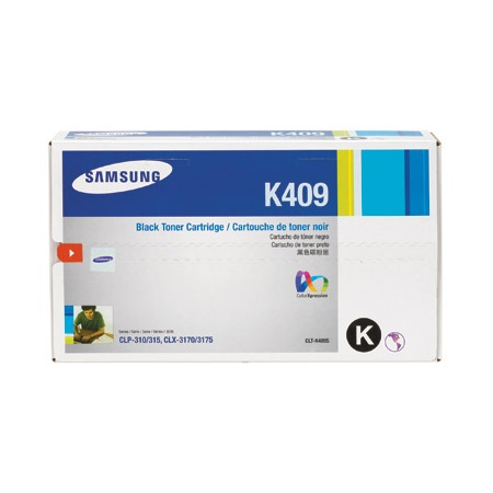 Samsung CLT-K409S Black Original Toner Cartridge