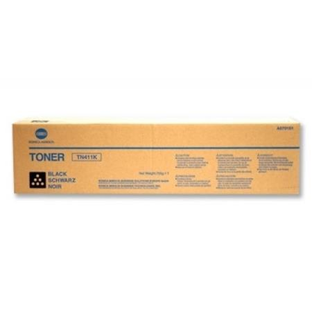 Konica Minolta TN411 Black Original Toner Cartridge (A070131)
