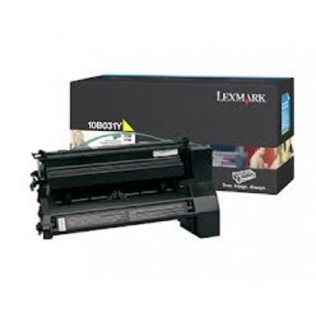 Lexmark 10B031Y Original Yellow Toner Cartridge