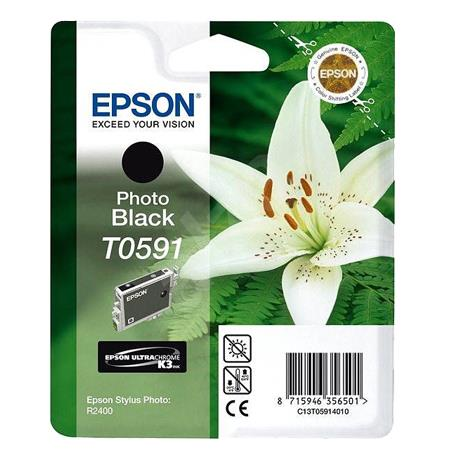 Epson T0591 (T059120) Photo Black Original Cartridge