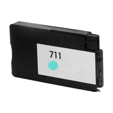 HP 711 Cyan Remanufactured Ink Cartridge