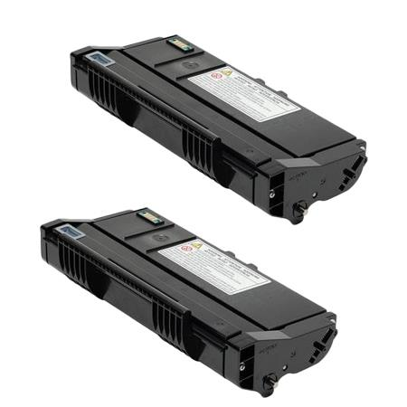 407165 Black Remanufactured Toner Cartridge Twin Pack