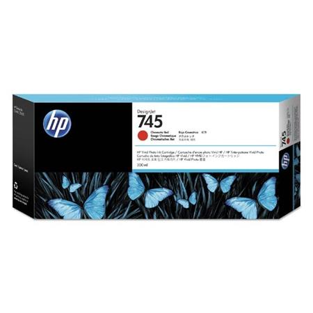 HP 745 (F9K06A) Chromatic Red Original High Capacity Ink Cartridge